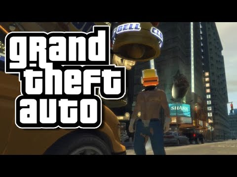 GTA 4 PC Mods: FLAPPY BIRD! (Funny Moments with Mods on GTA IV)