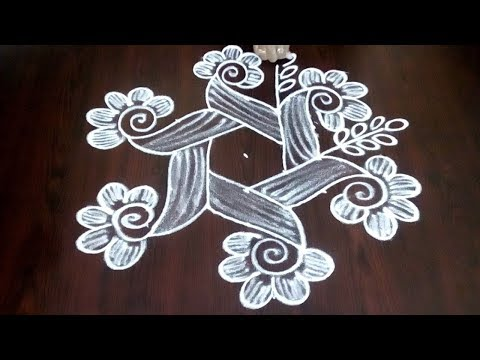 Easy Dots Kolam For Beginners || Beautiful Muggulu With Simple Chukkalu || Fashion World