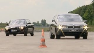 BMW 7 Series E65 vs E38 - Dynamic Drive Active Suspension & Comfort Parking Brake