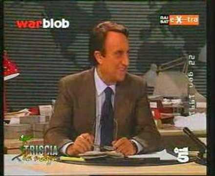 Figura di merda storica di Emilio Fede a Studio Aperto 1991