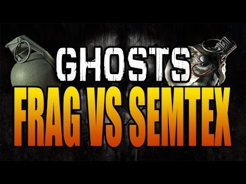 Call of Duty: Ghosts - Frag vs Semtex Grenade (COD Ghosts Grenades Tips and Tricks)