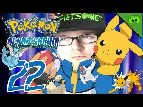 Pokemon # 22 - Geheime Geheimbasis «»  Let's Play Pokemon Alpha Saphir | Hd video