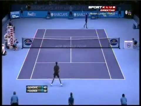 Novak Djokovic vs Roger Federer - ATP Masters Cup London 2012 FINAL - Highlights 12-11-2012