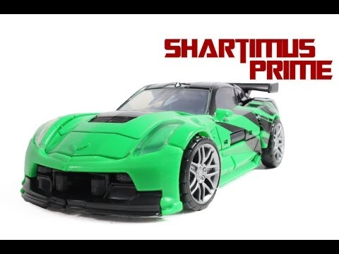 Transformers 4 Age of Extinction Crosshairs Deluxe Class Movie Action Figure Review