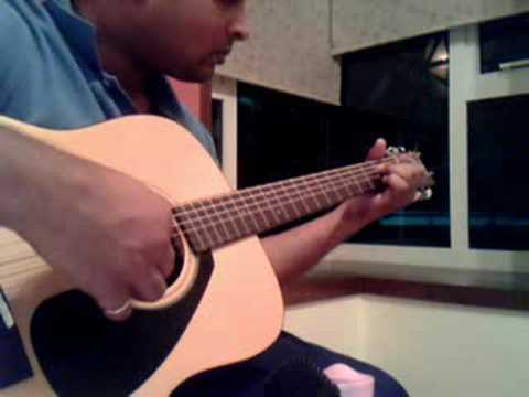 Chand mera Dil - Guitar Solo adaptation