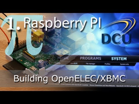 Raspberry PI: XBMC Home Media Player - Building the OpenELEC Linux Distribution