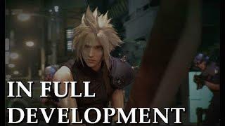 """In FULL Development"" Says Tetsuya Nomura | FF7 Remake"