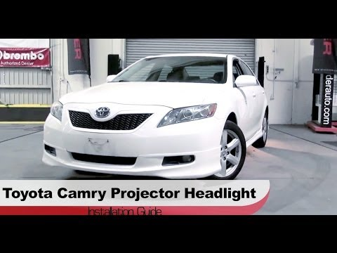 Spyder Auto Installation: 2007-09 Toyota Camry Projector Headlights w/ LED DRLs