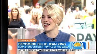 Emma Stone - Battle Of The Sexes - Today Show