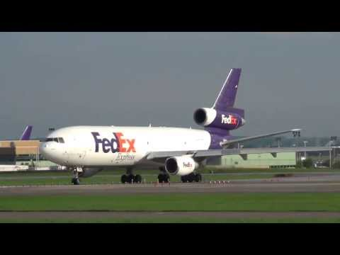 Federal Express Douglas MD-10-30F Takeoff 12R | N320FE | Minneapolis International