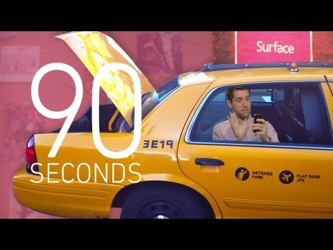 Microsoft Surface, NYC taxi apps, and Instagram - 90 Seconds on The Verge