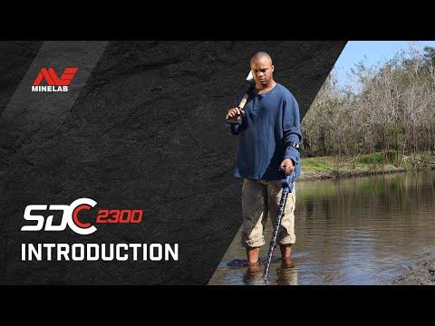 Introducing Minelab's SDC 2300; Minelab creates the world's best metal detector