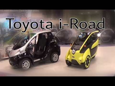 Toyota i-Road - Renault Twizy 2017 JAPAN