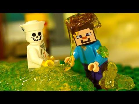 ЛИЗУН и Лего Нубик Майнкрафт Мультики Все Серии Подряд Мультфильмы для Детей СБОРНИК DIY Игрушки