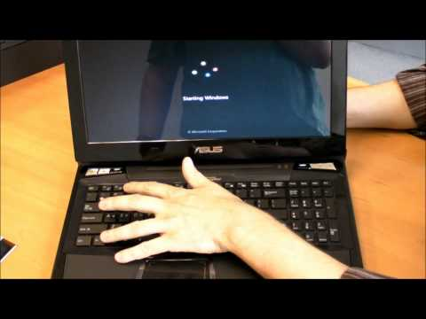 ASUS VX7 Hands on