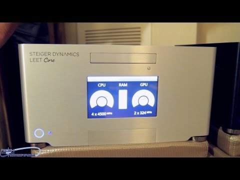 Steiger Dynamics LEET Liquid Cooled HTPC Demo