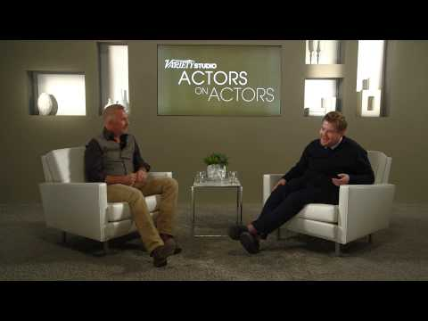 James Corden & Kevin Costner at the Variety Studio: Actors on Actors presented by Samsung Galaxy