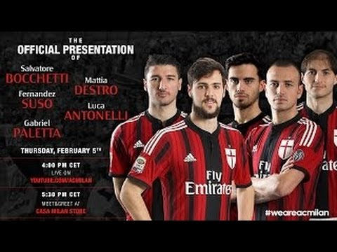 Ecco la nuova cinquina rossonera, Here are the new signings! | AC Milan Official