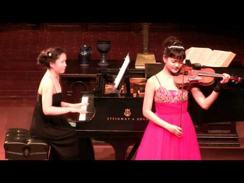 Ventura Music Festival - Mozart Adagio, K.261 - Valerie Kim &amp; Dominique Kim