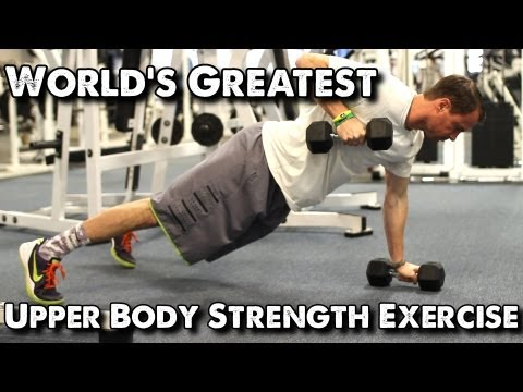 World's Greatest Upper Body Strength Exercise for Basketball: Push-Up Row