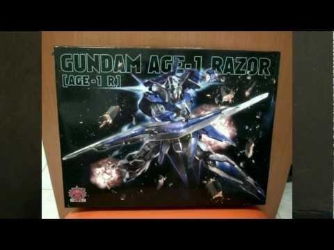 1/144 HG Gundam Age 1 Razor (Dragon Momoko) Review