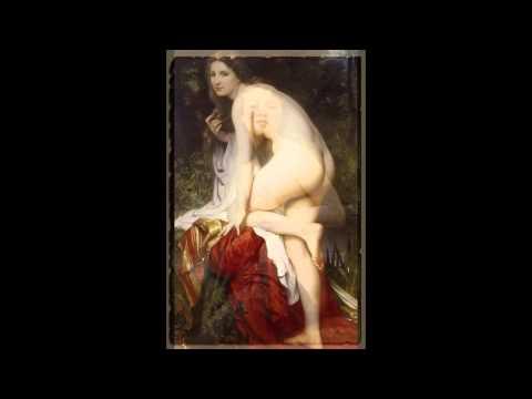 Эротика в живописи, художник Адольф-Вильям Бугеро