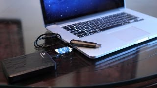 2012 MacBook Pro - USB 3.0 Demo