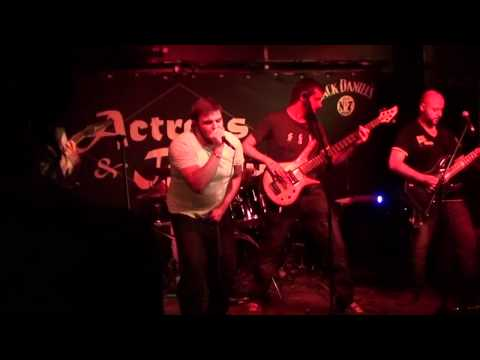 Collision Process - Be the Machine [new song - first live performance!] online metal music video by COLLISION PROCESS