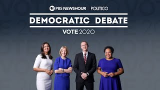 WATCH LIVE: The PBS NewsHour/POLITICO Democratic Debate