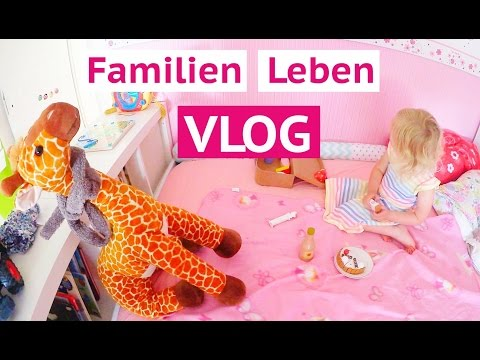 Picknick mit Giraffe Paul | Leona schminken | Mama Alltag | Isabeau