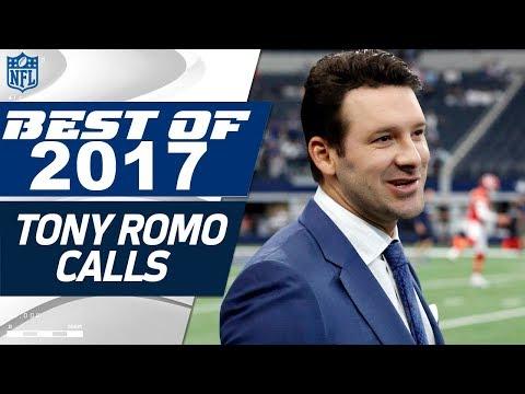 Tony Romo's Best Calls from the 2017 NFL Season   NFL Highlights