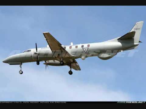 Fuerza Aérea Mexicana Fairchild Metro C-26