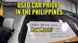 Used Car Prices. Cebu City, Philippines.