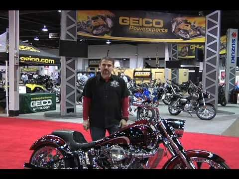 2011 Chicago - Dave Dupor @ Ultimate Builder Custom Bike Show