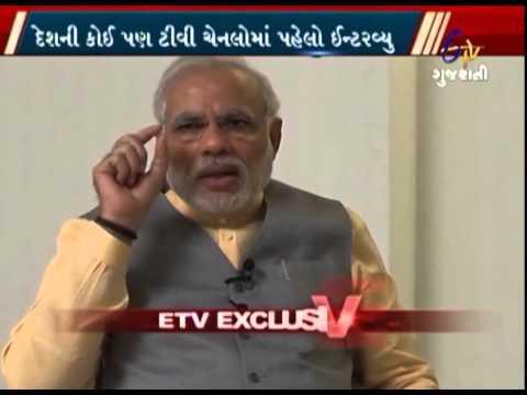 Narendra Modi's Full Interview on ETV