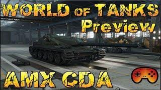AMX CDA Preview #627 - World of Tanks - Gameplay - German/Deutsch - AMX CDA Preview