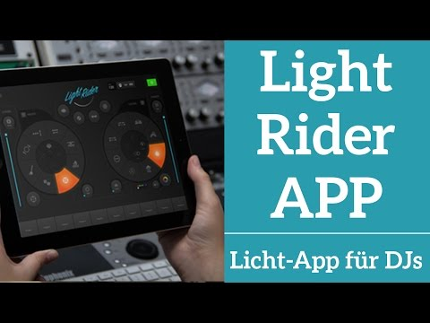 Light Rider App für DJs | Prolight + Sound 2017