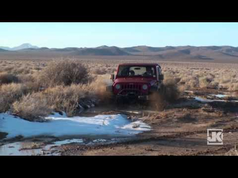 Project-JK Mojave Desert Black Mountain Wilderness Winter Run Video