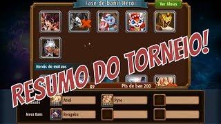 RESUMO DO TORNEIO ALMA FERA! || MAGIC RUSH #499