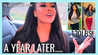 LIFE AFTER WEIGHT LOSS A YEAR LATER | How I Feel Before and After Losing Over 100 lbs | Rosa Charice