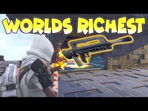 Worlds Richest Scammer Scammed Himself Scammer Gets Scammed Fortnite Save The World