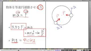 高校物理解説講義:「円運動」講義6