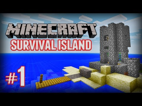 Minecraft Survival Island (Ep1)
