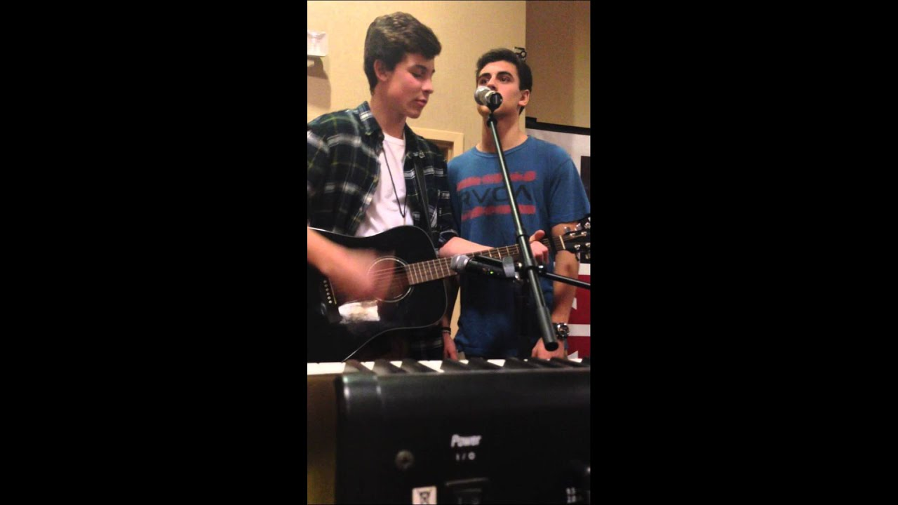 Vine Jack and Jack amp Shawn Mendes sing The Way Ariana Grande