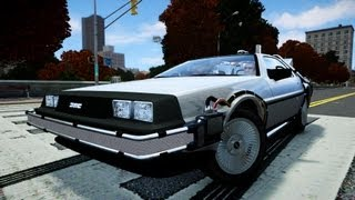 GTA IV | DMC DeLorean Time Travel