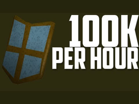 Oldschool Runescape – 100k+ GP Per Hour AND 50k+ Magic Exp per hour!