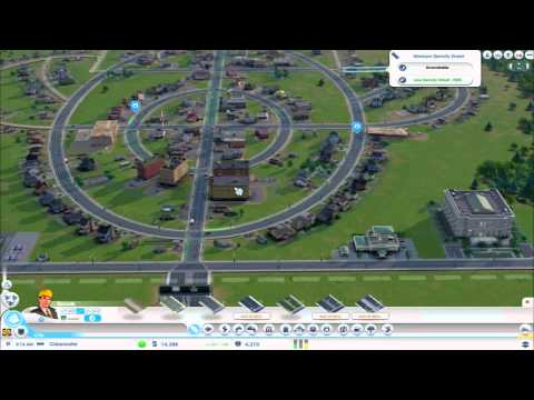 Let´s Play SimCity 2013 (Closed BETA) [German] [Full-HD] #05 Straßen-Test