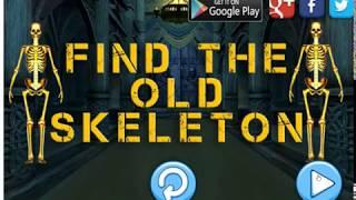 find skeleton skull land
