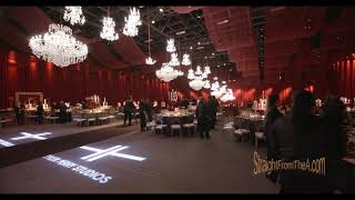 TYLER PERRY STUDIOS Grand Opening Gala - Inside Look at Lavish Dinner