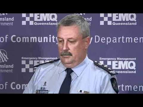 Media Conference - Queensland Police flood briefing, Monday Jan 3